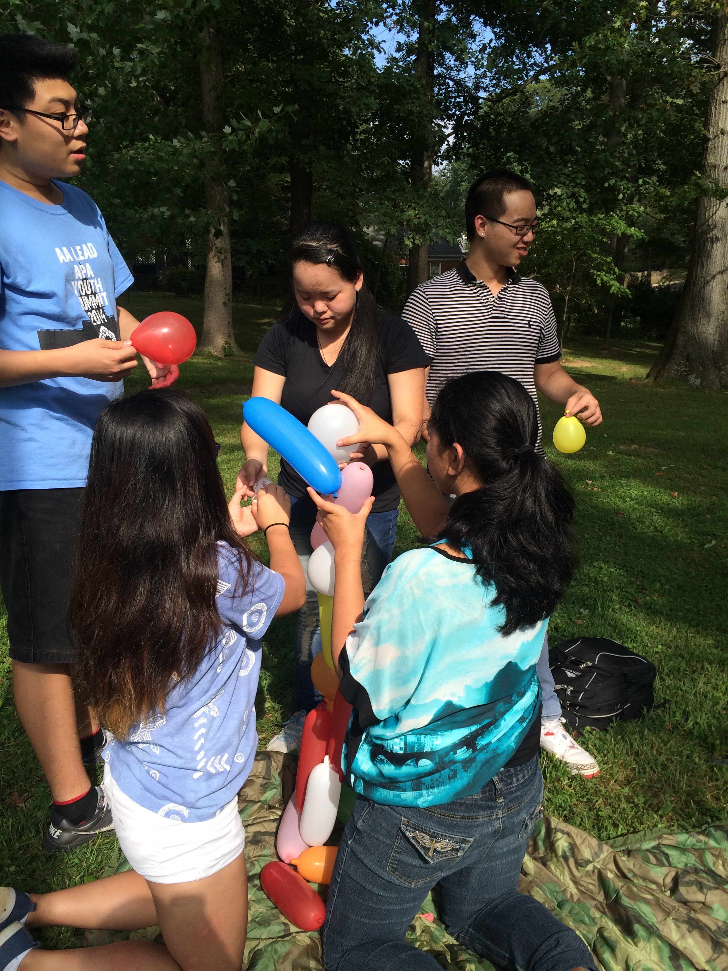 md high school programs off to a running start asian american lead after the energetic competition filled laughter the sound of popping balloons encouragement and inventive techniques youth had a chance to discuss