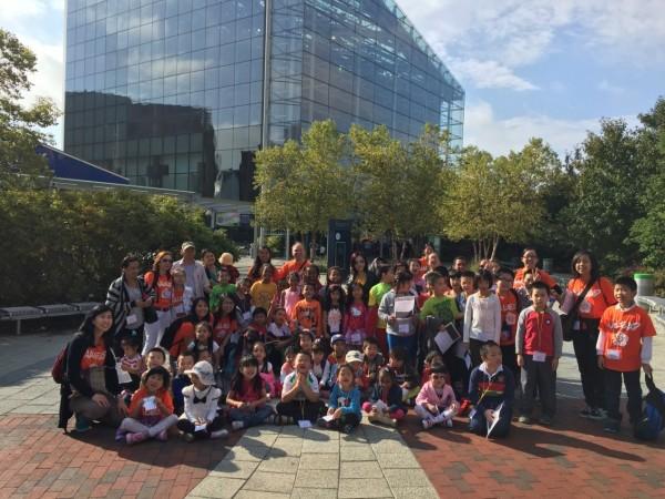 DC ES Discovery Aquarium Field Trip Group Photo