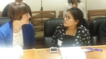 AALEAD Youth Speaking to the Department of Education