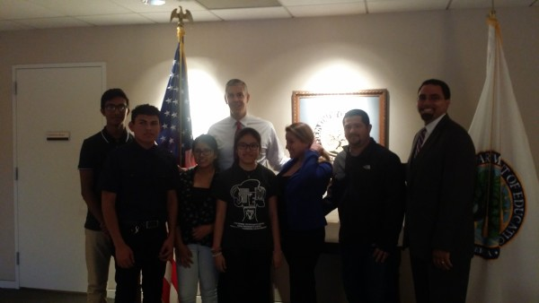 AALEAD Youth with Arne Duncan and Dr. John King