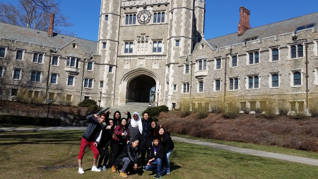 AALEAD youth at Princeton University