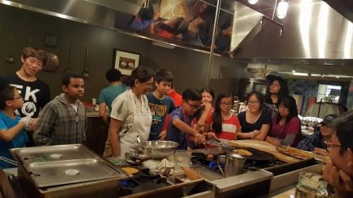 VA Summer Horizons Cooking