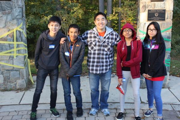 Mr. Kang and VA Middle School Program Alumni