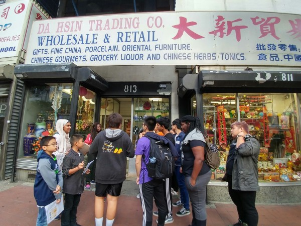 AALEAD and NAKASEC youth in Chinatown